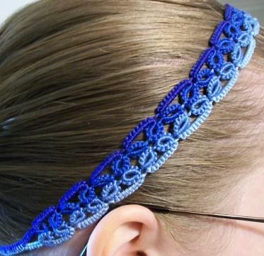 Tatted headband