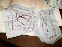 Utility and decorative stitches