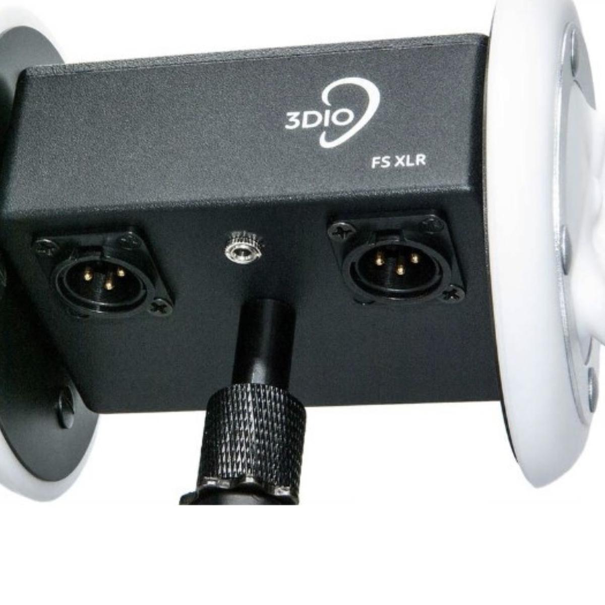 3DIO FS XLR Microphone XLR connections