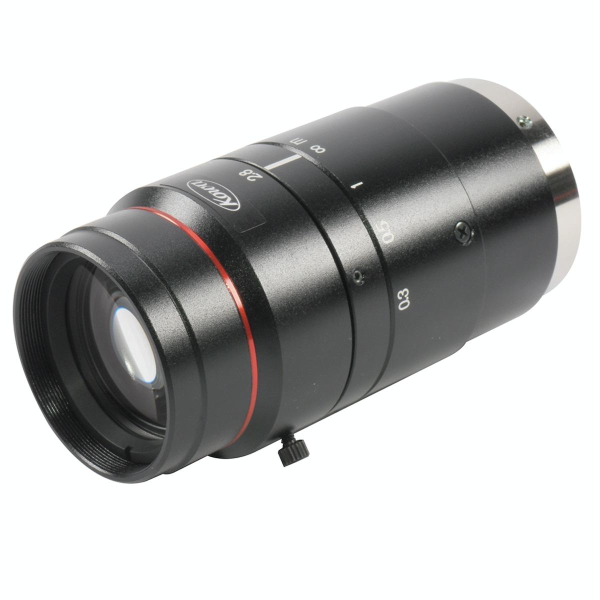 Kowa LM50JC10M lens 3/4 view