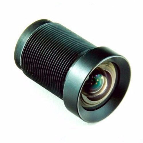 4.4mm 16MP Low Distortion M12 lens 3/4 view