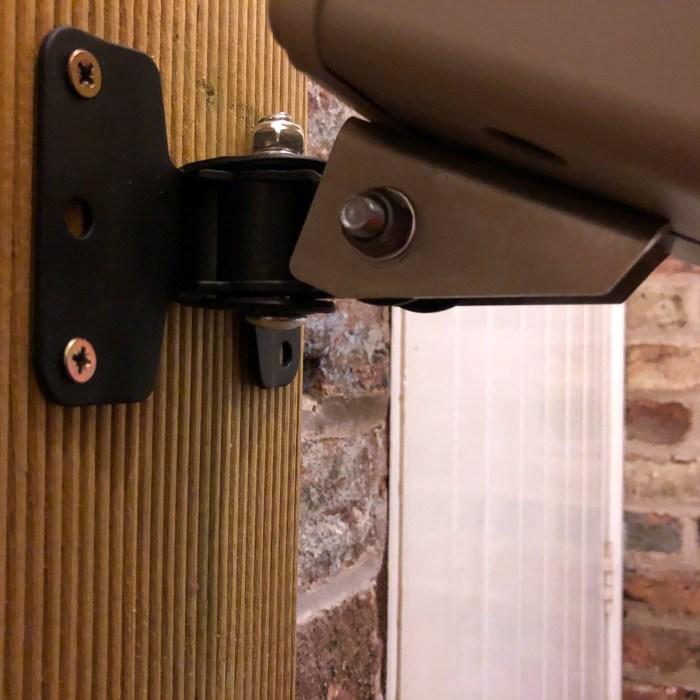 Argus wall mount detail 2