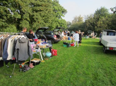 Seest Borgerforening - Bagagerumsmarked 6 - 2014.09.19