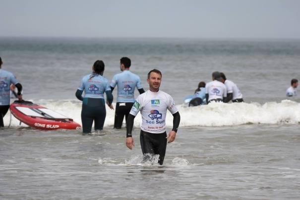 Jérémie, un bénévole qui est toujours présent dans l'eau