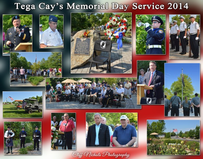 Memorial Day in Tega Cay 2014