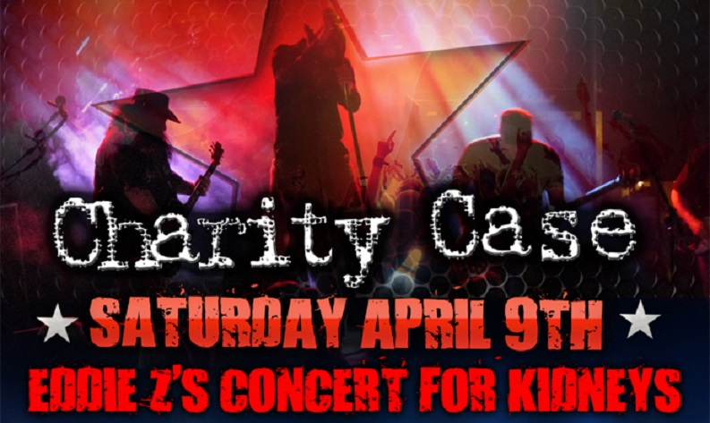 Eddie Z's Concert For Kidneys for Saturday,