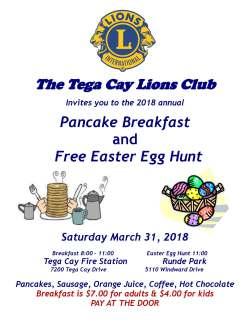 Tega-Cay-Lions-Club-Pancake-Breakfast-Flyer-2018