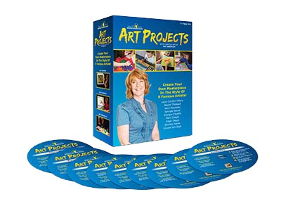 See the Light's Art Projects 9-DVD Boxed Set