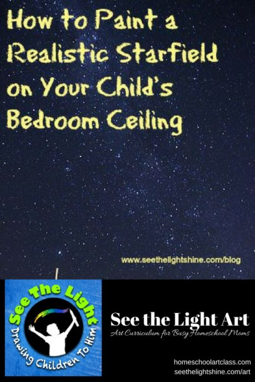 How to Paint a Starfield on Your Ceiling