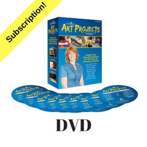 Art Projects DVD Monthly Subscription
