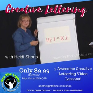 Creative Lettering Video Lessons