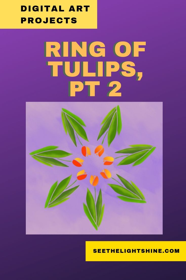 Ring of Tulips Lesson, Part 2