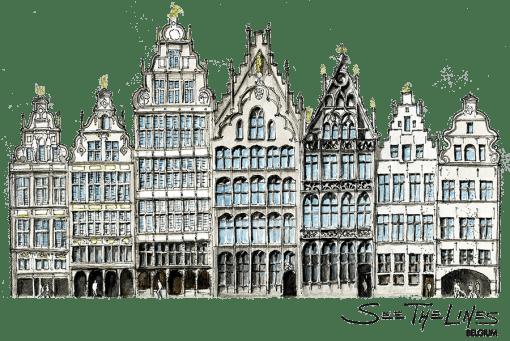Belgium Antwerpen Main Square