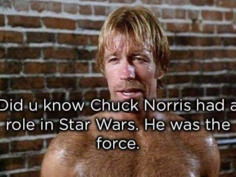 chuck norris was in the star wars