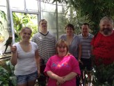 A visit to the Botanical Center at UNI