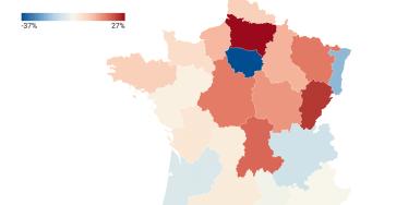 Locations de courte durée en France en été 2021