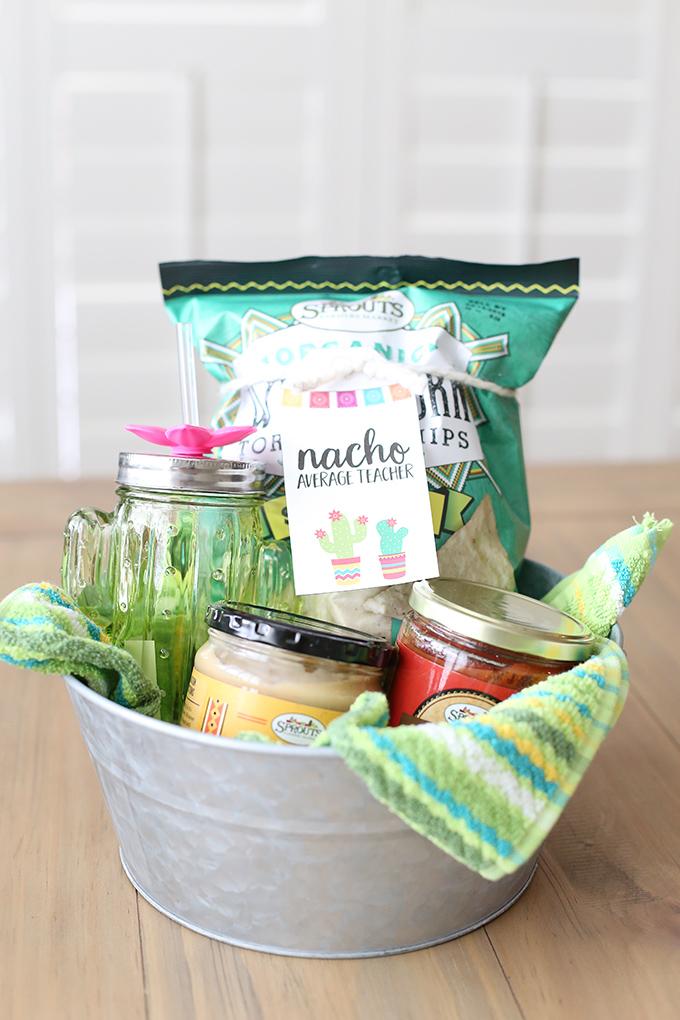 Craft Nacho Average Teacher Gift Basket See Vanessa Craft