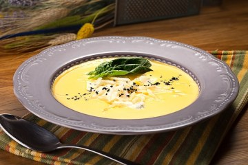 Árpagyöngye krém leves Séfbabér