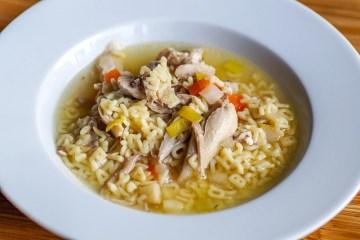 Csirke leves Séfbabér