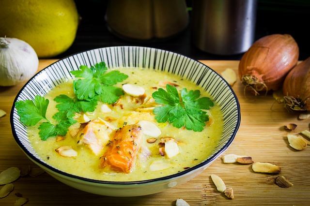 Zellerkrém leves Séfbabér