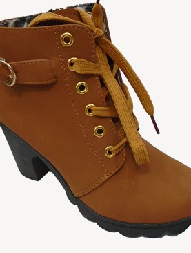 Women's stylish boots-Brown.
