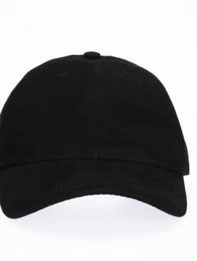 Baseball cap-Black.