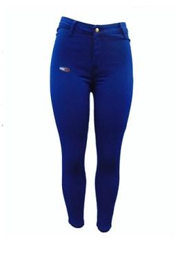 Women's denim jeans-Blue.