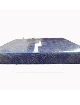 6 x 6/74*72*6 Rose Foam Mattresses-Navy Blue.
