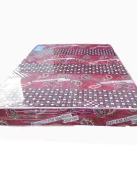 4.5 x 6/74*54*6 ROSE FOAM MATTRESSES-MAROON