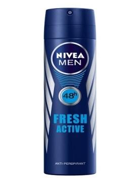 Nivea fresh active antiperspirant body spray-250ml