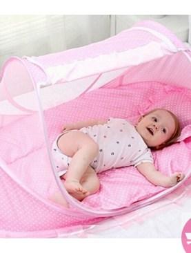 adjuastable babys net-Pink