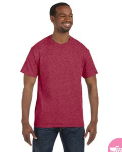 Men's cotton round tshirt-Purple