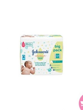 Johnsons soft wipes-224 PCS.