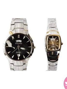 2 pack his and hers rado watches-Silver.