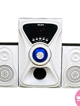 Original Ailipu 2.1 channel speaker system-White.