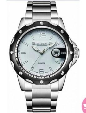 Men's classy watch-Silver.