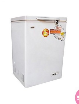 Ramtons 108 litre chest freezer-White.
