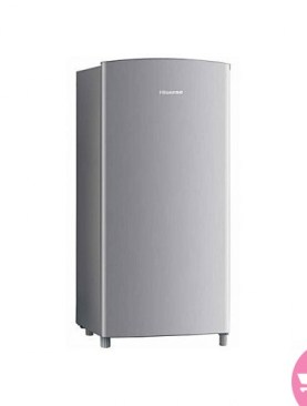 Hisense 195L Single Door Refrigerator -Silver.