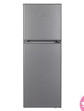 KIC double door fridge-Silver.