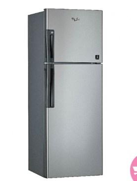 Whirlpool double door 242 Liter Refrigerator-Silver.