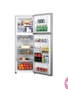 Hisense Double Door Refrigerator 220L -Silver