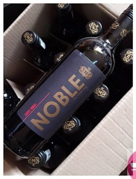 Box of 12 noble dry red wine - 750ml