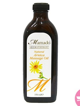 Mamado aromatherapy arnica Massage Oil -150Ml