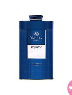 Yardley equity perfumed talc for Men 250g