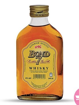 Bond 7 extra smooth whisky - 200ML