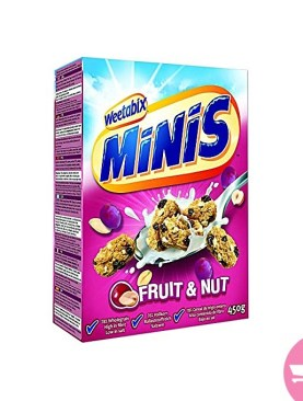 Minis Fruit & Nut 450G By Weetabix