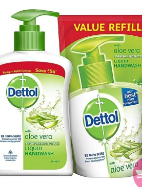 Dettol Handwash, 200g Aloe Vera