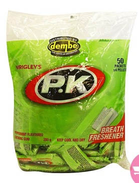 Wrigley's Peppermint Chewing Gum - 4 Pellets Bag