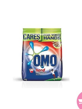 1 kg Omo fast action hand washing powder.