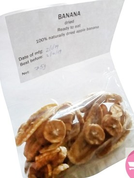 Dried apple banana - 75g